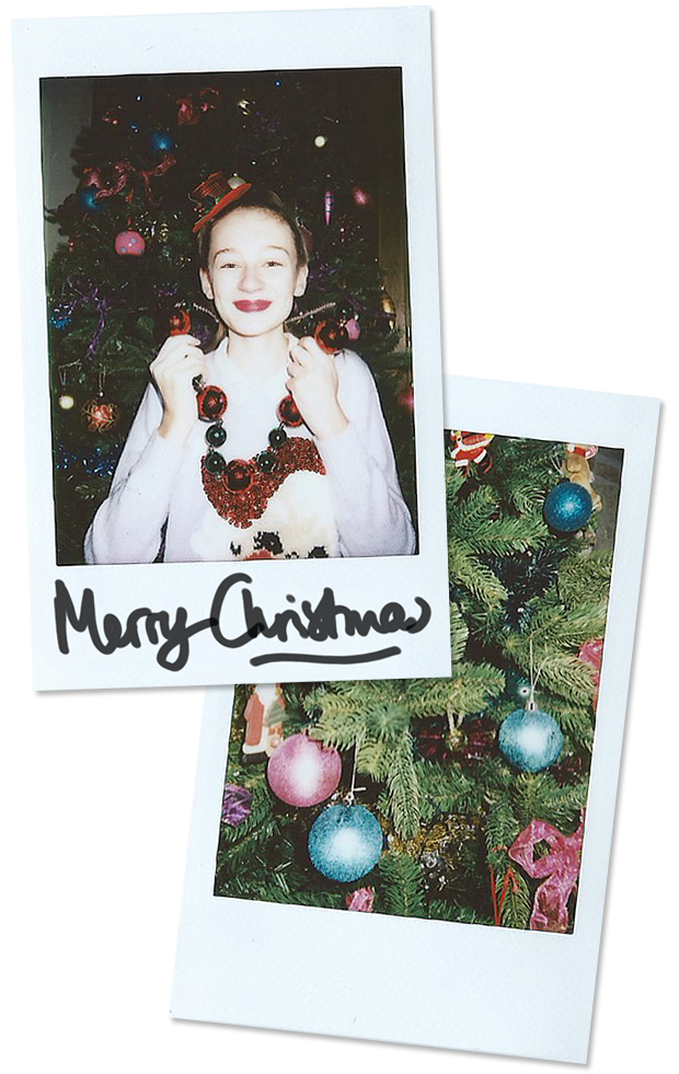 Merry Christmas - New Look - Claire's Accessories - Polaroid Photoshoot