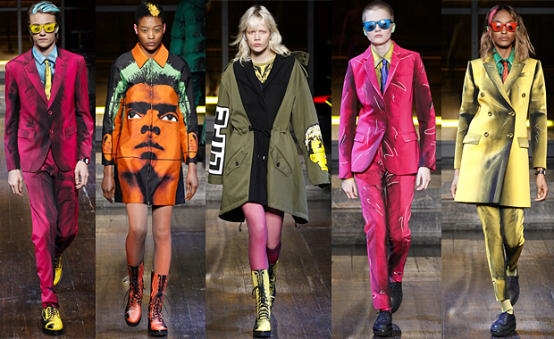 MOSCHINO Menswear Collections Autumn Winter 16' Review