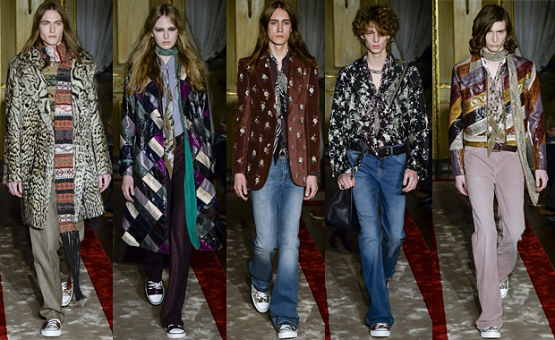 Roberto Cavalli Menswear Collections Autumn Winter 16' Review