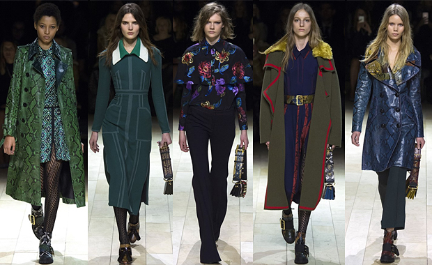 Burberry AW16 London Fashion Week Review