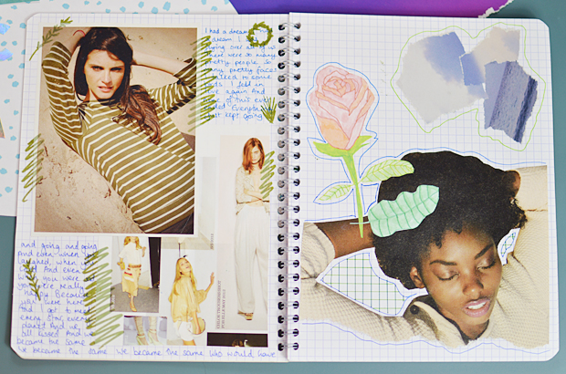 How To Make a Fashion Scrapbook - #ScrapSocial