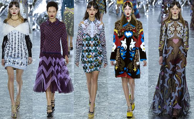 Mary Katrantzou AW16 London Fashion Week Review