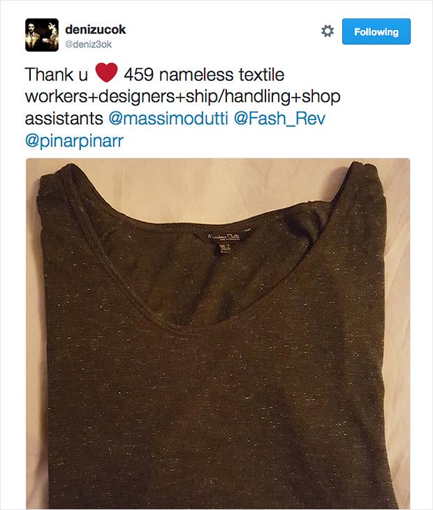 Fashion Revolution - #whomademyclothes - Massimo Dutti