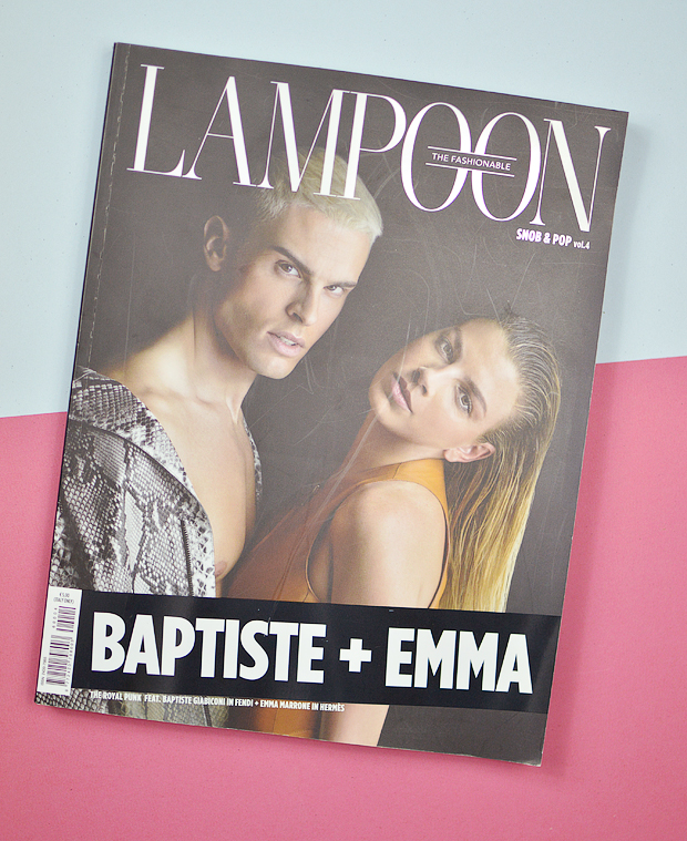 fashion magazines - the fashionable lampoon baptise + emma