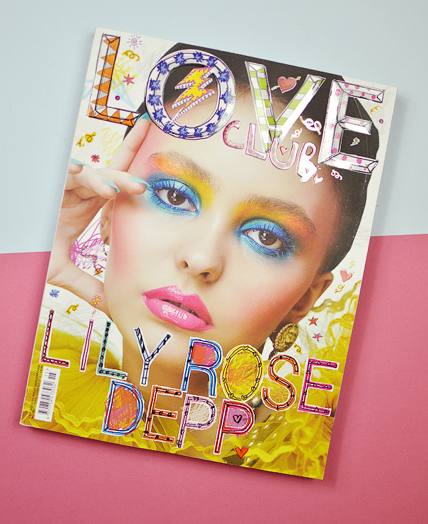 fashion magazines - love club lily rose depp