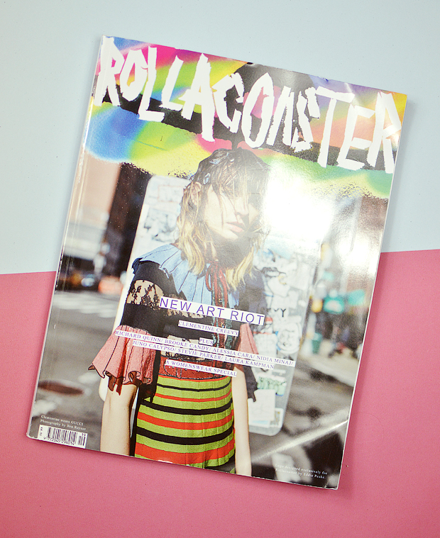 Fashion magazines - Rollacoaster Clementine Creevy
