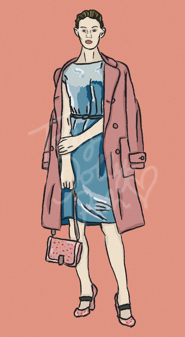 Resort Pre-Spring Summer 2017 Collections - Bottega Veneta - Fashion Illustrator