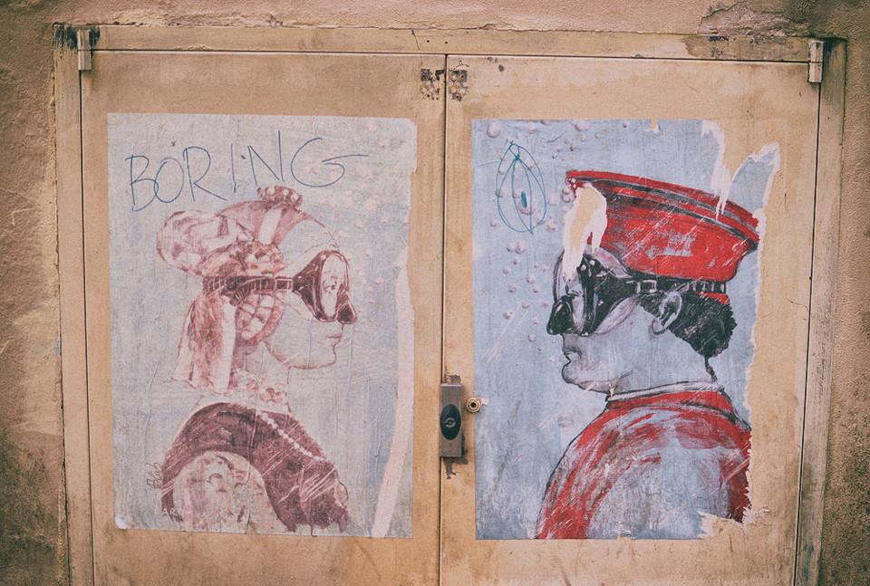 florence firenze italy graffiti art orsanmichele