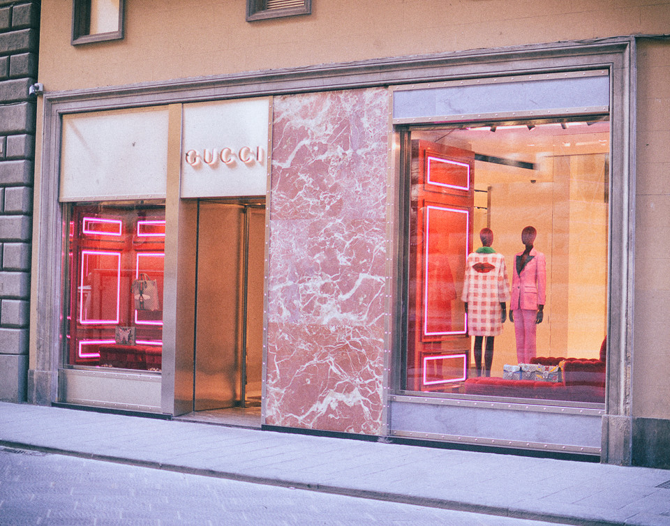 florence firenze italy gucci musuem flagship store