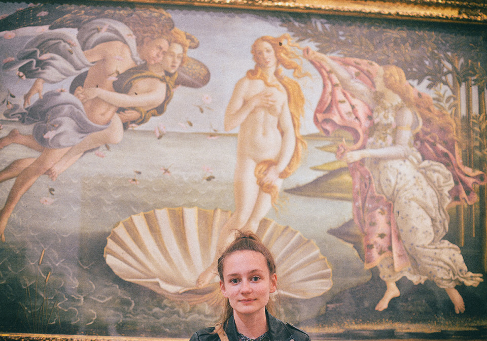 florence firenze italy gucci musuem uffizi gallery sandro botticelli