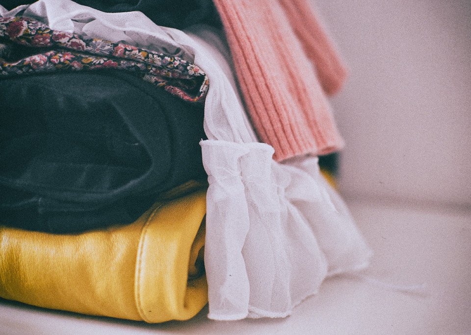how to start an ethical wardrobe - secondhand shopping for autumn fashion