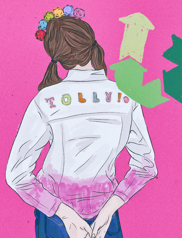 What to Do with Old Clothes - Charity Shop Alternatives - fashion illustration