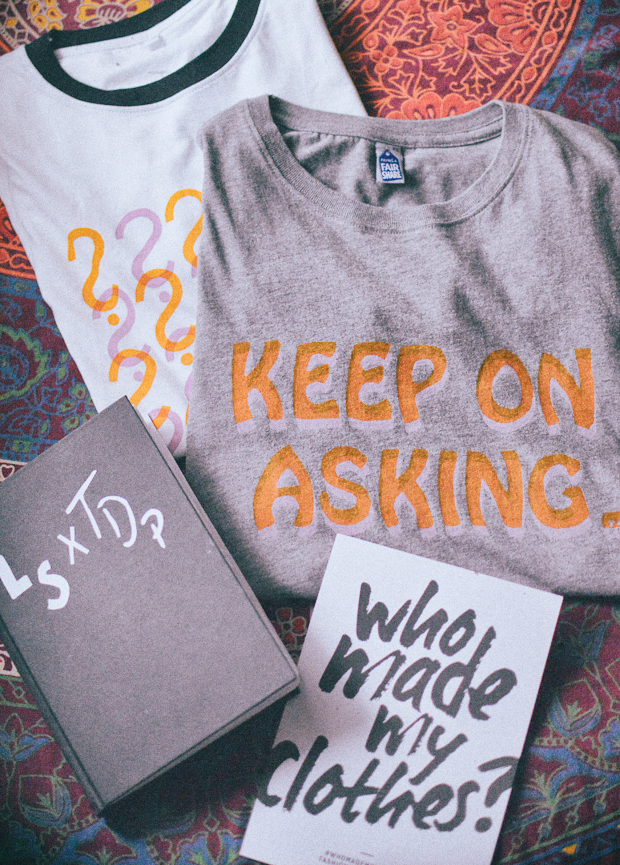How to Keep on Asking - Ethical Fashion T-Shirts