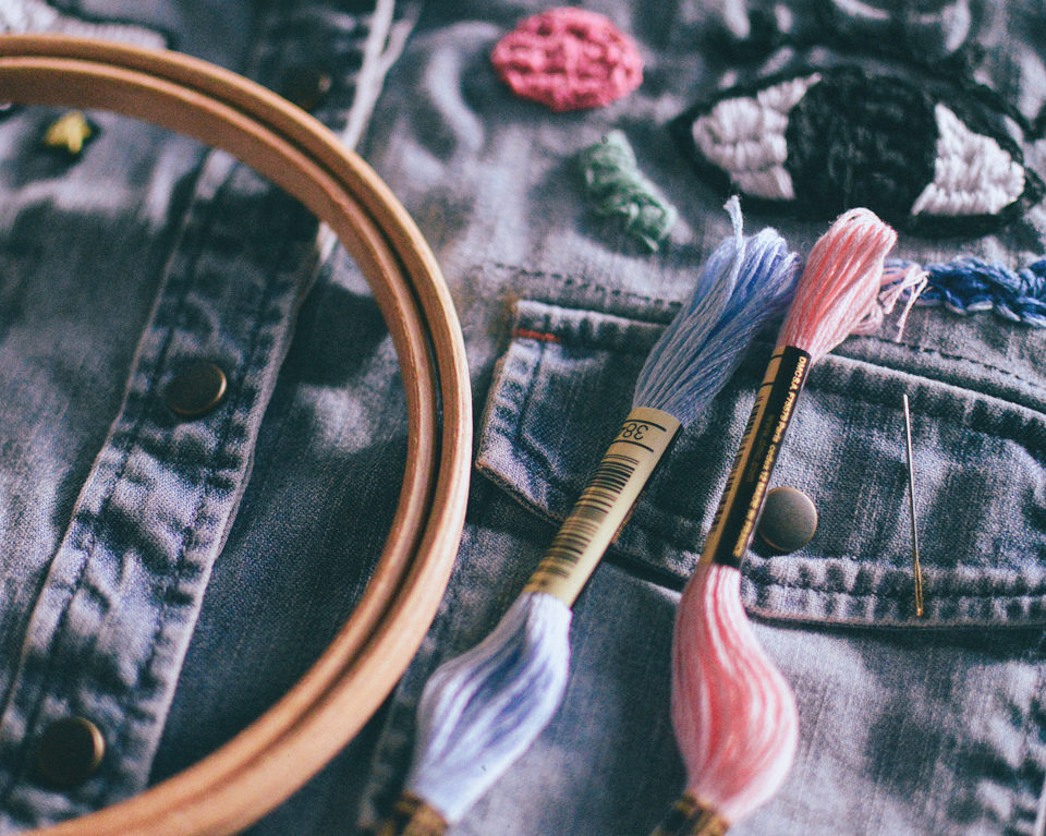 MAKESMTHNG Week with Greenpeace & Fashion Revolution: DIY Embroidery